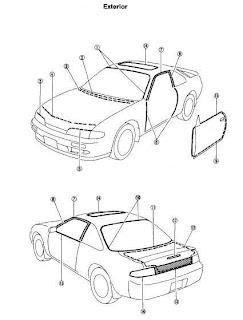 repair-manuals: Nissan 240SX S14 1997 Repair Manual