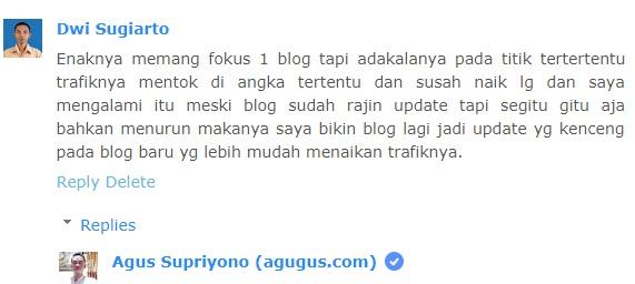 Ini Alasan Kenapa buat banyak blog