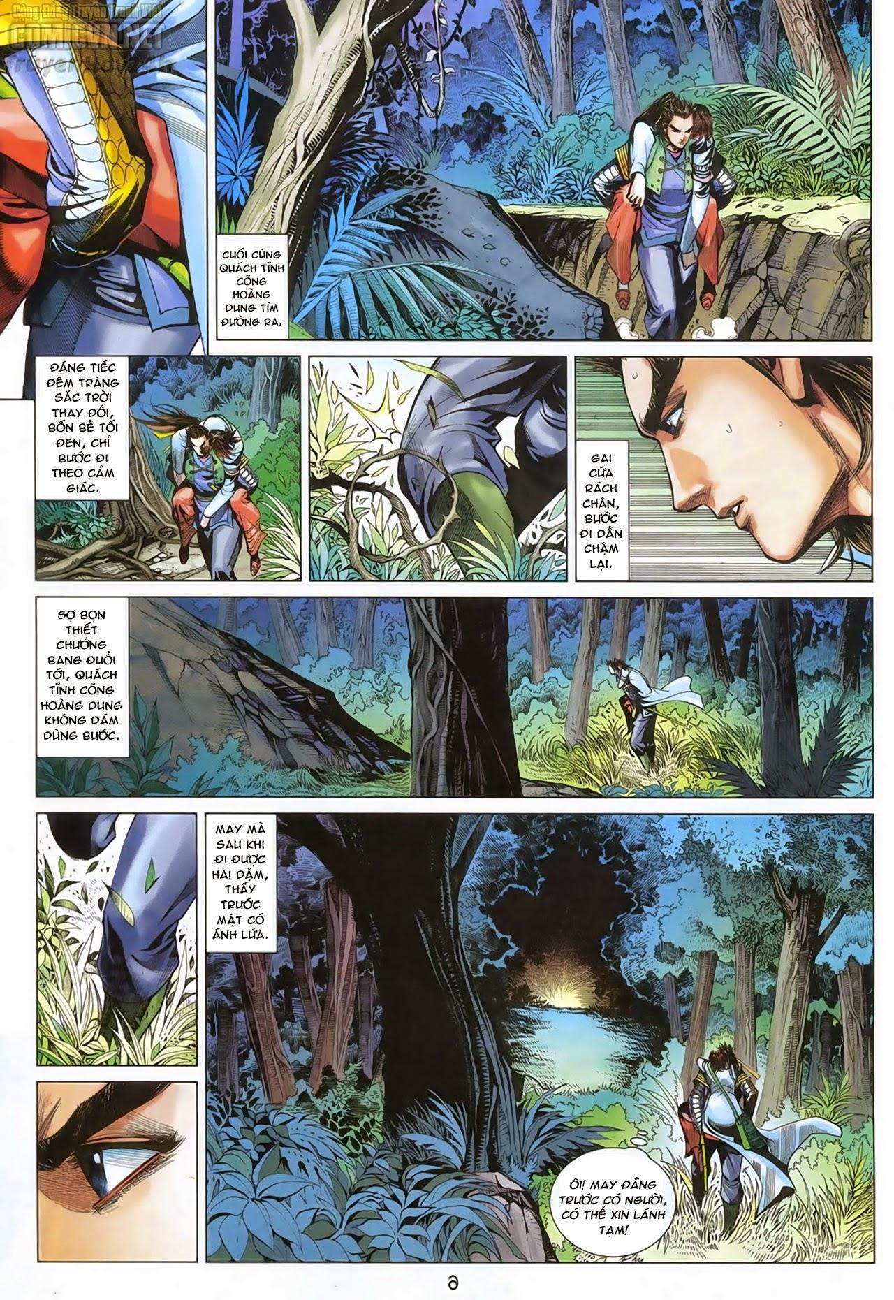 Anh Hùng Xạ Điêu anh hùng xạ đêu chap 70: hắc chiểu ẩn nữ trang 7