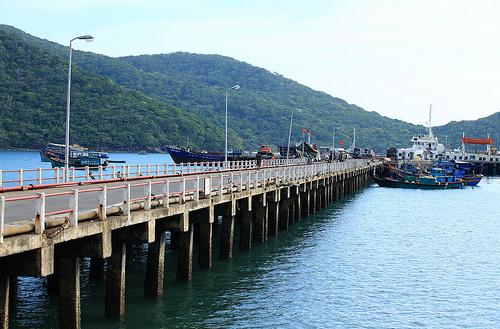 Cảng biển Bến Đầm Côn Đảo