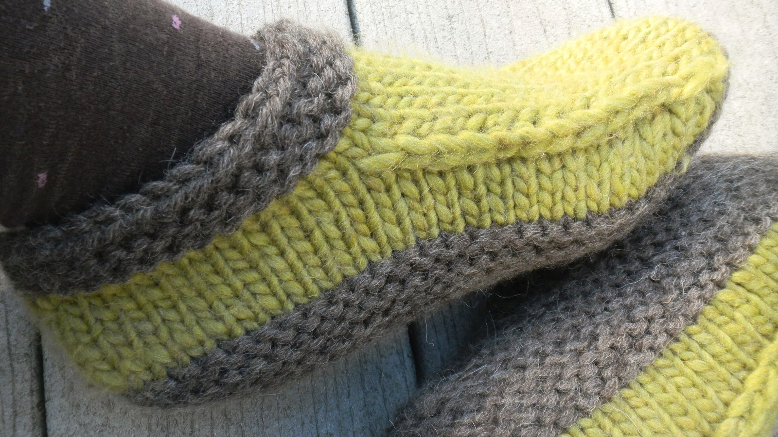 modest creations by michelle: cozy new slippers