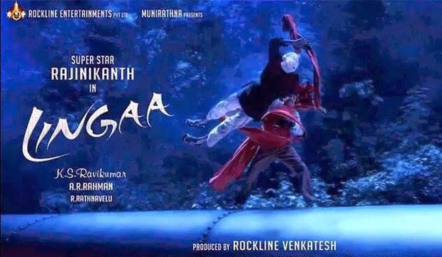 Super Star in & as LINGAA ♤Anushka ♤ARR ♤KS Ravikumar