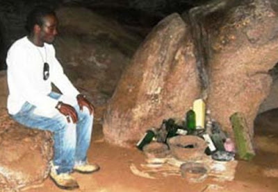 ghanaian man sleeps inside graves for 30 years