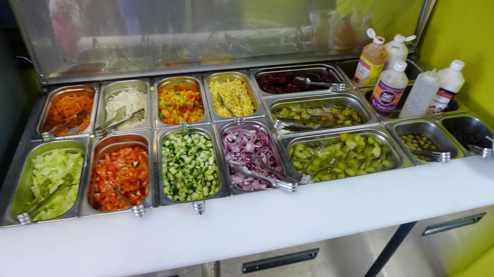 Falafel Kitchen Cardiff Menu