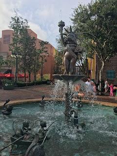 Miss Piggy Fountain