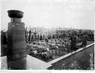 Soldatenfriedhof Belgrade - Namur, 1914-1918, Joseph Stoll war zuständig für die Soldatenfriedhöfe; Nachlass Joseph Stoll Bensheim, Stoll-Berberich 2016