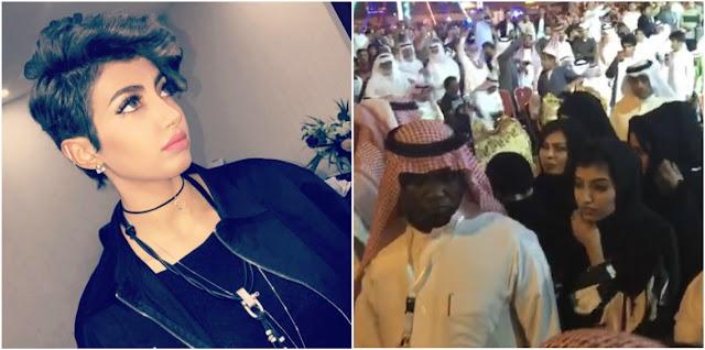 من هي أريج العبدالله التي أثارت غضب السعوديين علي مواقع التواصل