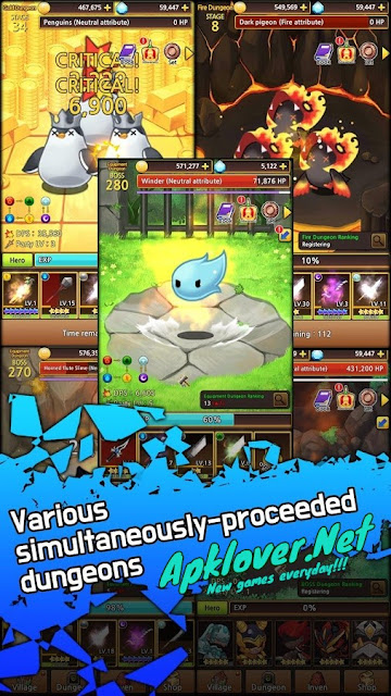 Sword Knights Idle RPG MOD APK unlimited money