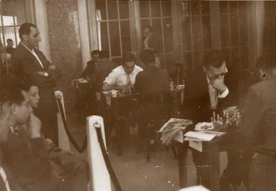 I Torneo Internacional de Terrassa 1960, sala de juego
