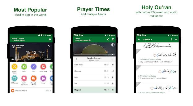 Muslim Pro - Prayer Times, Azan, Quran & Qibla v10.0.3 Apk [Premium]