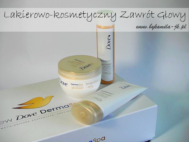 Dove DermaSpa Goodness balsam olejek krem kosmetyki rozświetlające