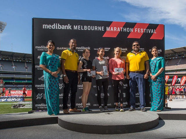 Melbourne witnesses a spectacular SriLankan Airlines Half Marathon for the second consecutive year