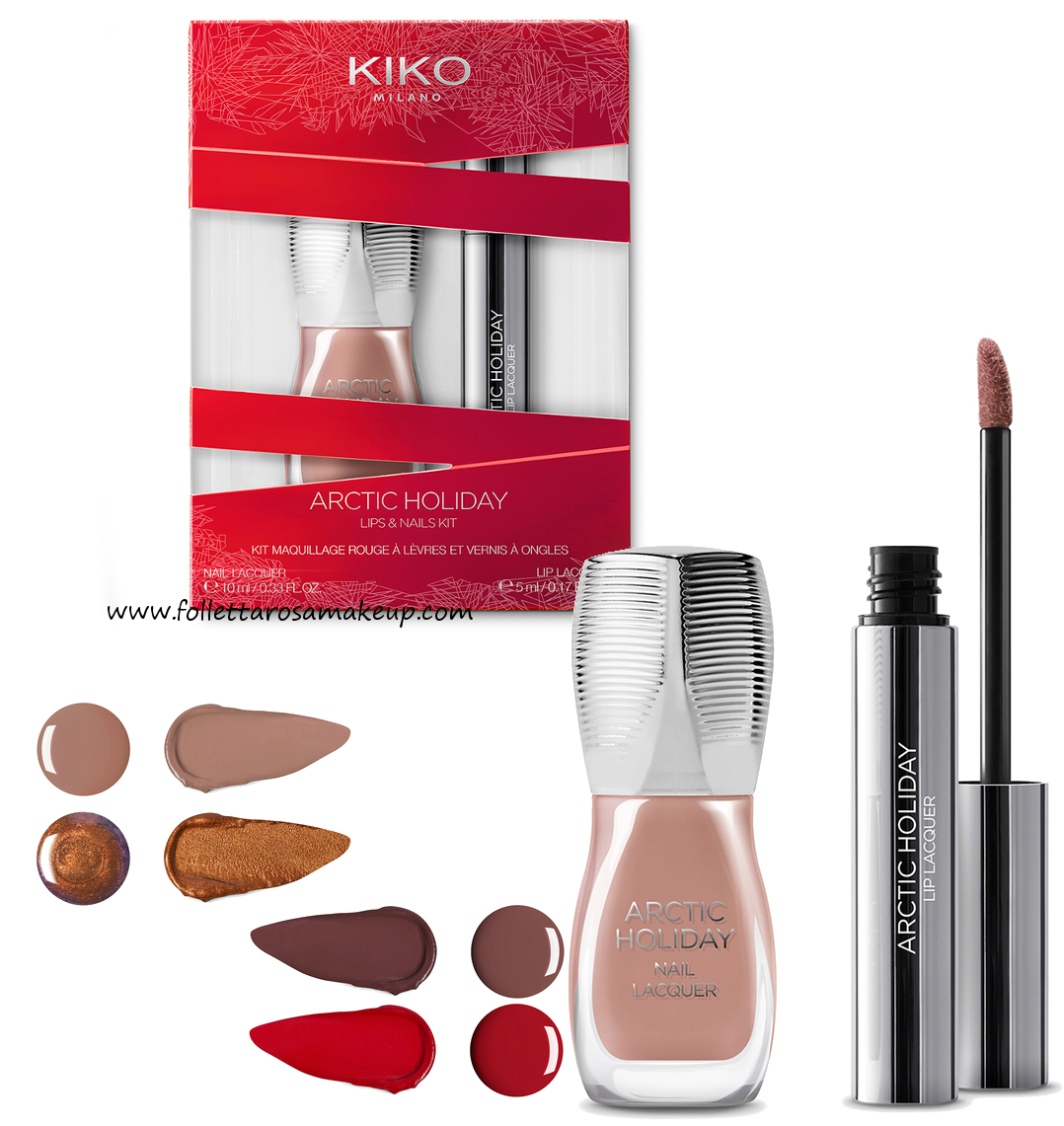 cofanetti make up kiko natale 2017
