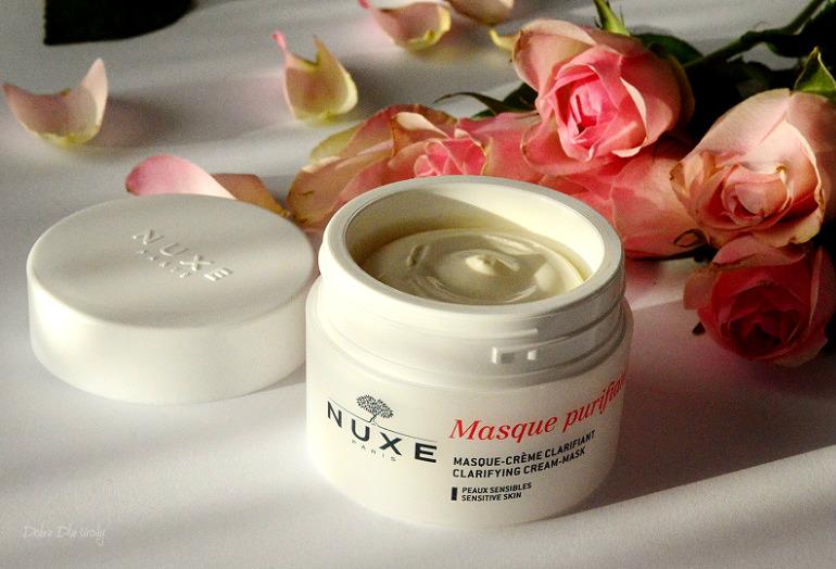Nuxe Delikatnie Oczyszczająca Maseczka-krem z Płatkami Róży recenzja