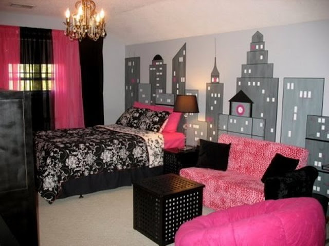 Pink Room Ideas: Between the Gold and Others Pink Room Ideas: Between the Gold and Others 6