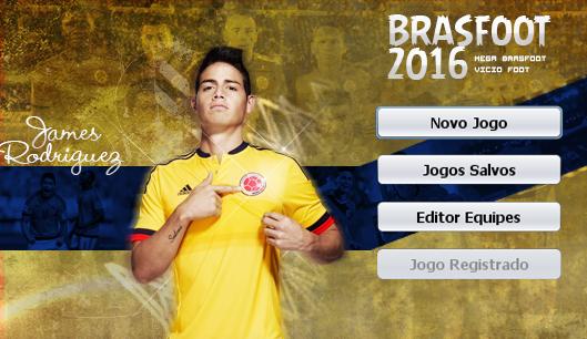 Skin James Rodriguez - Colômbia para Brasfoot 2016