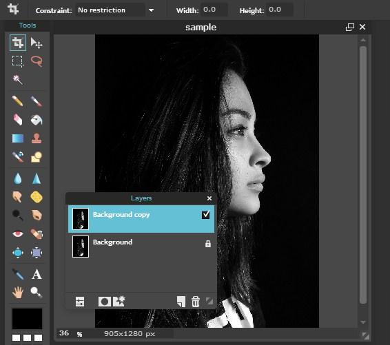 Membuat Bingkai Foto Efek Kaca Pecah Online