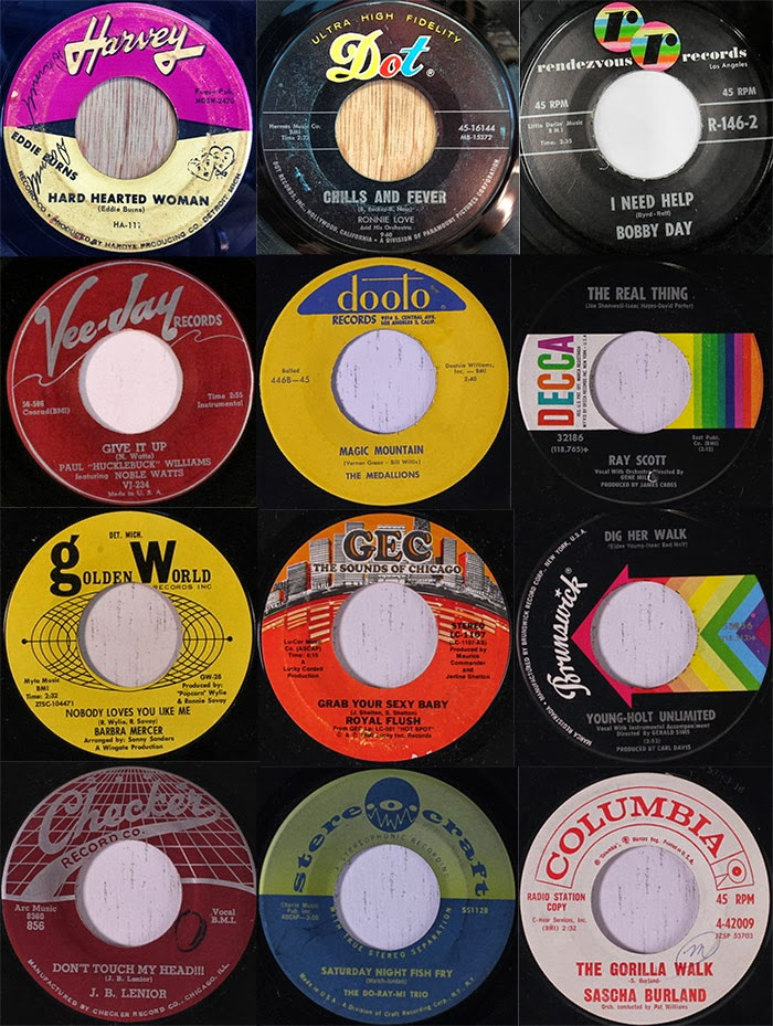 Mens Collections: Northern Soul Record Label Graphics 1960's