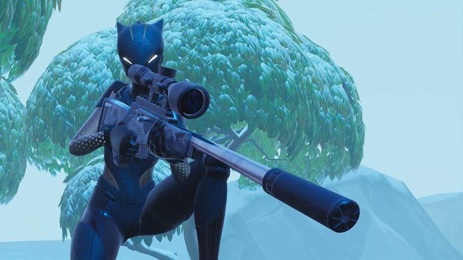 Fortnite Battle Royale, Lynx, Sniper Rifle, 4K, #77