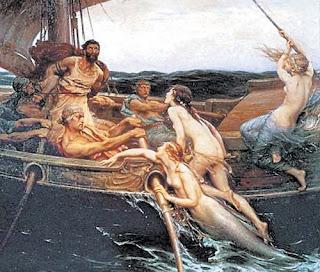 las sirenas y los argonautas