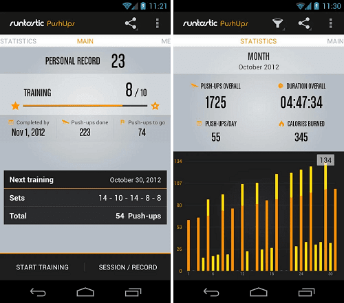 Runtastic Push Ups Pro Apk Download