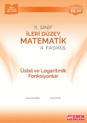 Esen Üstel ve Logaritmik Fonksiyonlar Fasikülü PDF indir