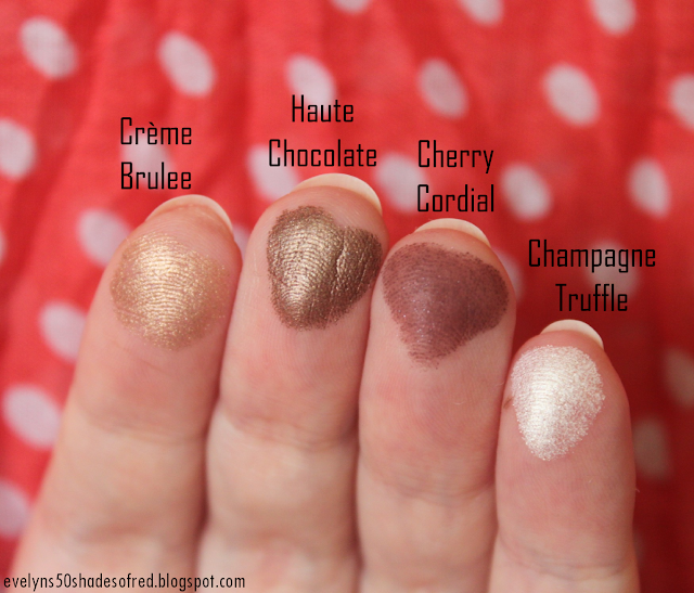 Too Faced Chocolate Bar Creme Brulee Haute Chocolate Cherry Cordial Champagne Truffle