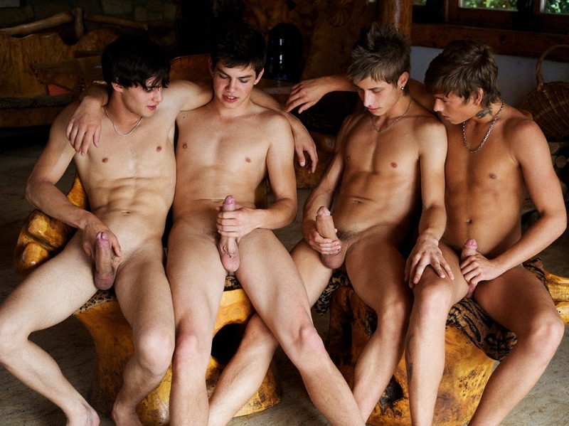 Boys showing their cocks