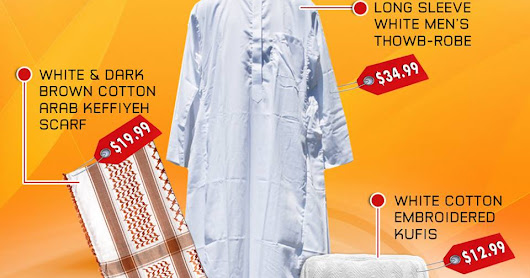 Get you set of Islamic clothing items for men - Muslim Clothing