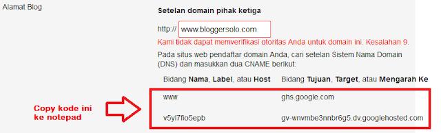 cara custom domain di idwebhost