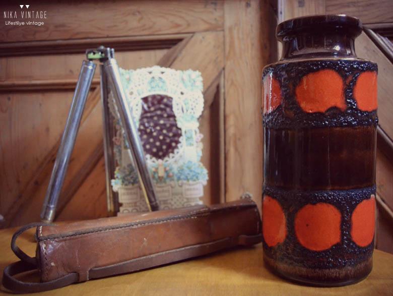 west germany, ceramica alemana, fat lava, lava, vintage, 50´s, 60´s, 70´s, decoracion, jarron, jarrones, tendencias