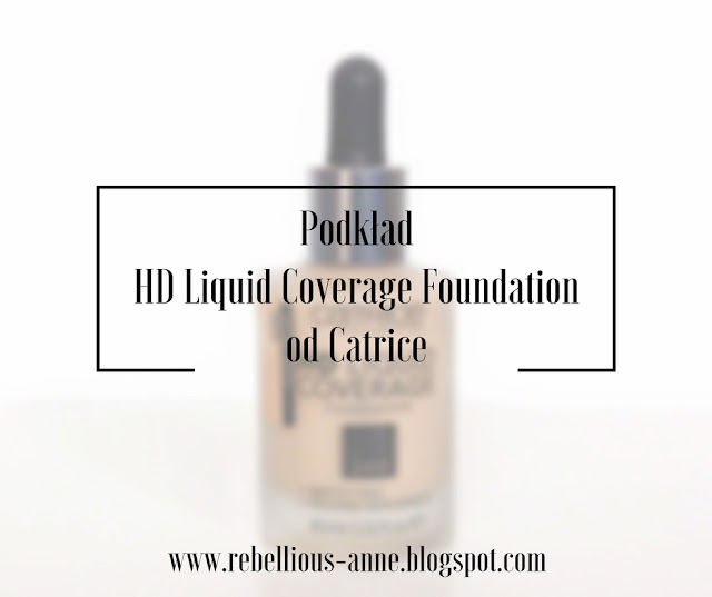 Podkład HD Liquid Coverage Foundation od Catrice