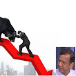 The India Satire: SP Tulsian catches falling Sensex and Nifty in his bare hands