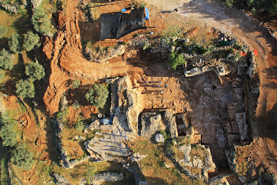 Ancient quarry unearthed in Jerusalem