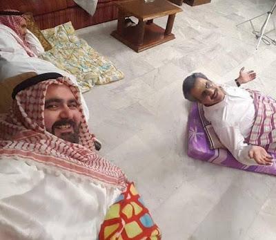 أول صورة للأمير الوليد بن طلال في محبسه