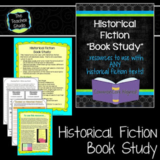 Learning how to have quality book discussions is so important!  Helping students learn to piggyback, use text evidence, and actively partipate is so important.  See what we did with our historical fiction unit!