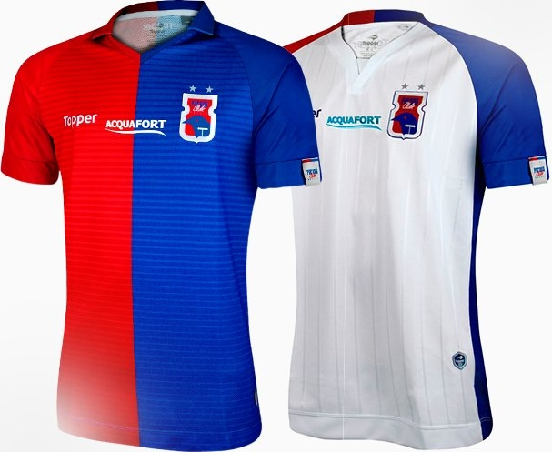 8b24ba3497f89 Paraná Clube acerta patrocínio na camisa com a Acquafort - Show de ...