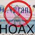 Wartawan Tanimbar Nilai Nurani Maluku, Surat Kabar Hoax