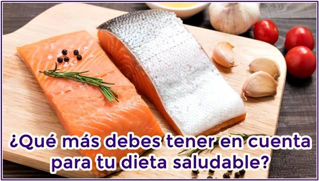 Consejos para una dieta saludable donde incluyas el consumo de grasas buenas