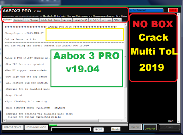 ANDROID BOX Aabox 3 PRO 19.04v CRACK TOOL 100% WORKING 2019
