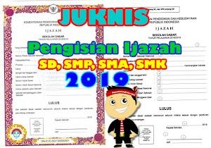 Juknis Dan Tata Cara Penulisan Ijazah Tahun 2019 Untuk SD SMP SMA SMK Lengkap Dengan Contoh