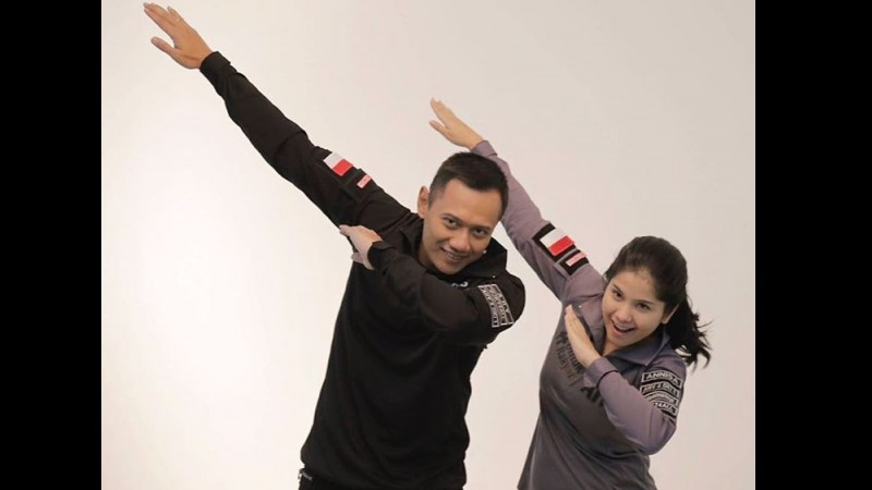Agus Harimurti Yudhoyono dan Anissa Pohan