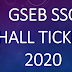 GSEB SSC Hall Ticket 2020 Download