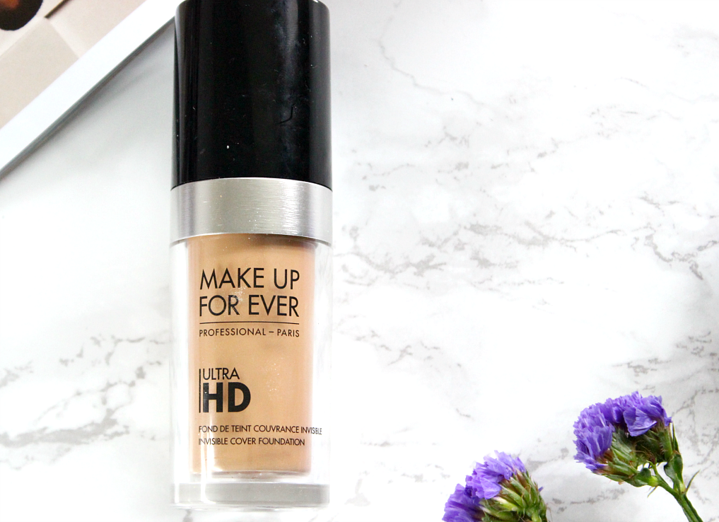 Make Up For Ever Ultra HD Foundation in Y365/123 review and swatch