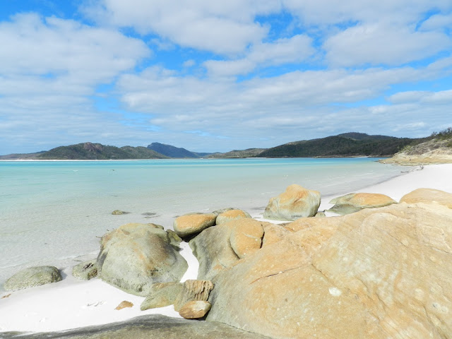 Whitsunday island whitehaven beach australia