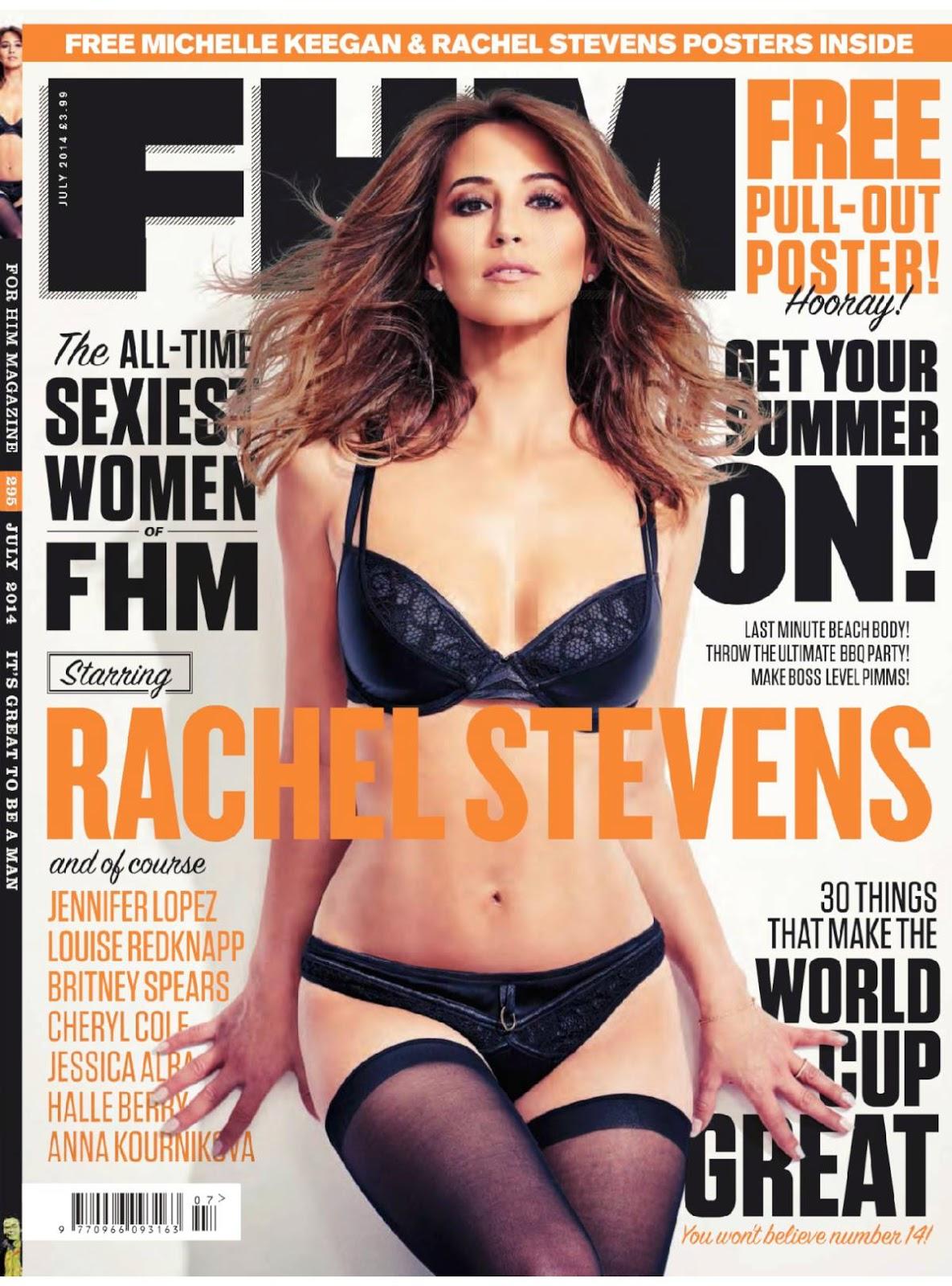 PhotoFunMasti: Rachel Stevens Hot Photoshoot For FHM