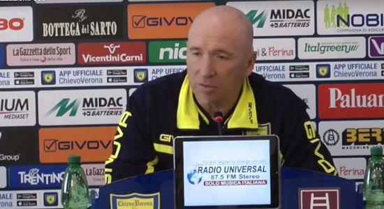 """MARAN conferenza stampa Pescara Chievo: """"Tre indisponibili. Domani sarà un test importante."""""""
