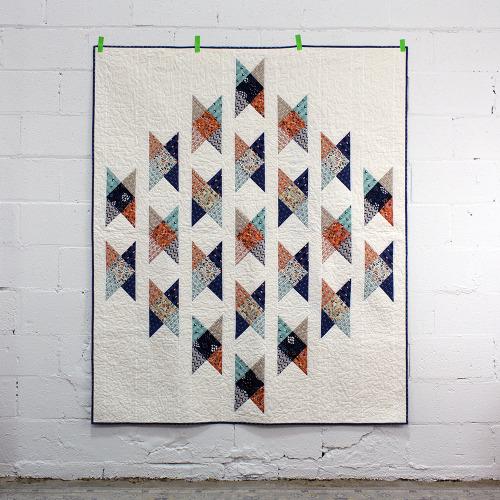 Fieldcrossing Quilt free Pattern