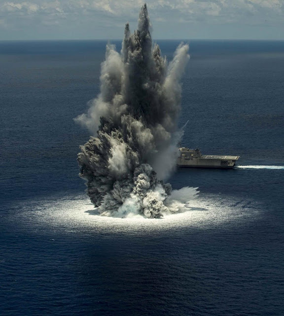U.S. Navy Explosion Off Florida Mistaken For Earthquake