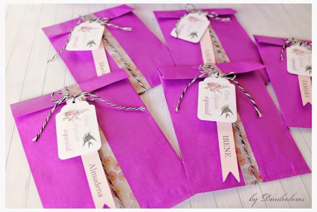 empaquetado individual para regalos boda